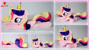 My Little Pony  Princess Cadance  Beanie Plush by Lavim
