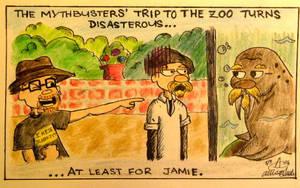 Mythbusters Zoo Trip by AtomykTickTock