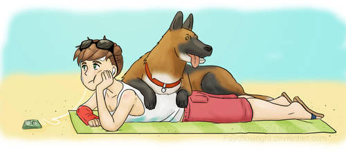 Lazy Summer Days by Faydflowright