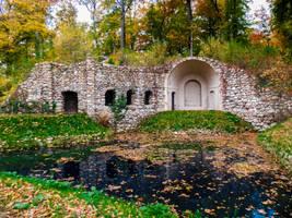 Rheinsberg Ruine by bormolino