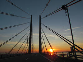 Oeresund bridge by bormolino