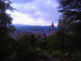 Castle Wernigerode by bormolino