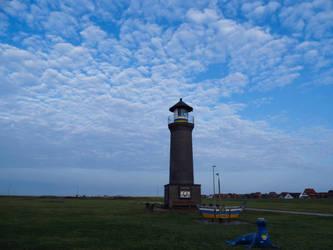 Lighthouse Memmertfeuer by bormolino