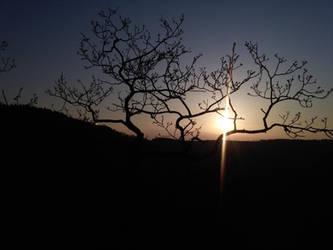 Another hiking sunset by bormolino