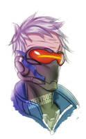 Soldier 76 (Overwatch) by FluffyDus