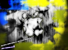 creative apple wallpaper by jaysnanavati