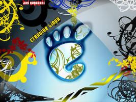 linux wallpaper creative by jaysnanavati