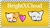 BrightXCloud stamp by Amberstarthunder