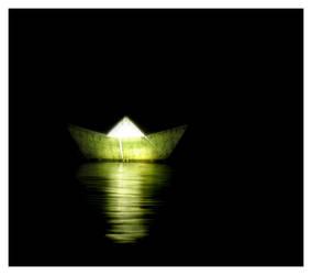 paper boats by -jezabel-