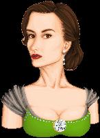Countess Christi Portrait - Rd 1 MMP by batty-mcbats