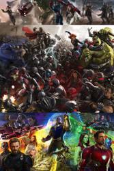 Marvel Story Arc 1 by RandomFilmsOnline