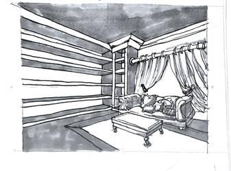 Living room by breadarts