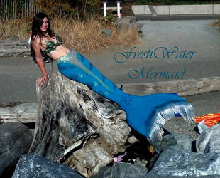 My Turquoise Tail by FreshwaterMermaid