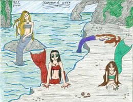 Mermaid Cove by FreshwaterMermaid