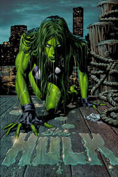 She-Hulk 23 by Summerset