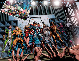 Dark Avengers preview by Summerset