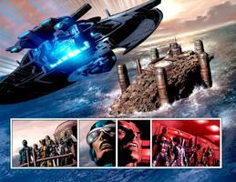 X-Men vs Dark Avengers: EXODUS by Summerset