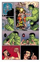 AVENGERS ANNUAL page 22 by Summerset