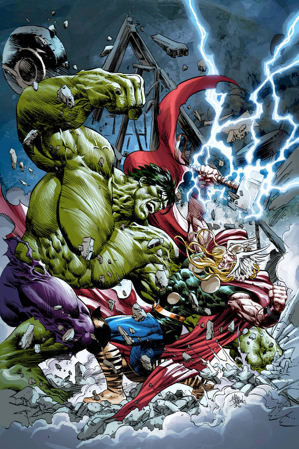thor vs hulk by summerset on deviantart