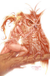 Sjsegovia's Owl Girl by Summerset
