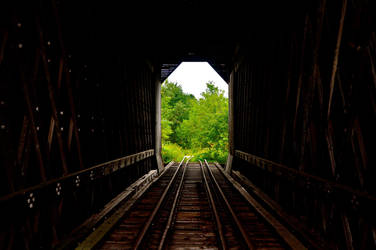 Railroad to Nowhere by TheMagneticWombat
