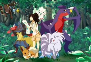 Pokemon OC: Eterna Forest by Zweenii