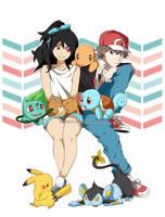 Pokemon OC: Babysitting by Zweenii