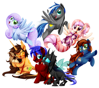 Cloudy And Friends by Centchi