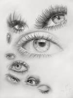 Eyes by Darksorceror