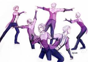 YOI - Victor sketches by bibmob