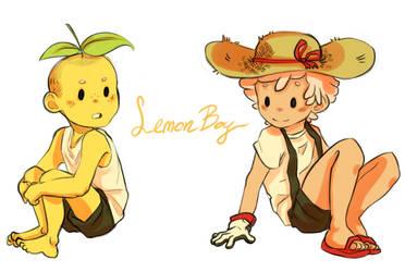 Lemon Boy by bibmob