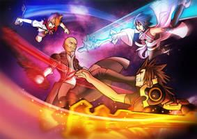 Keyblade Battle by je2bot