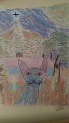 el gato del parque by gioser12