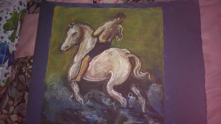 en el caballo  by gioser12