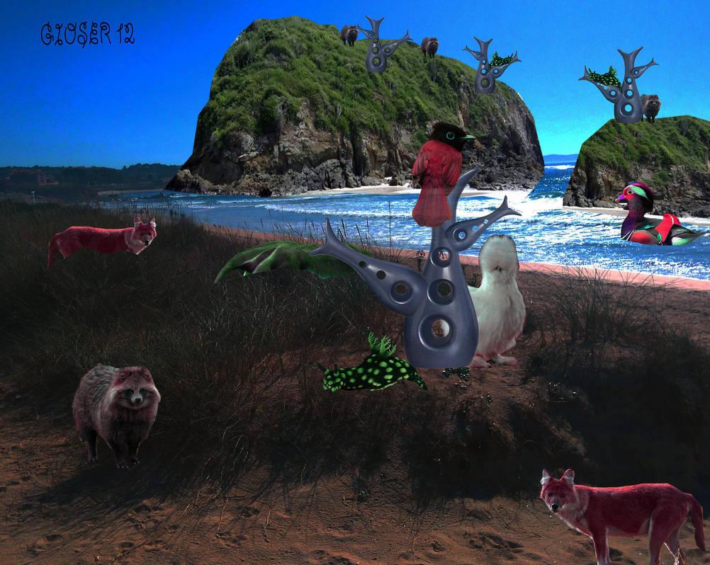 a la orilla  by gioser12
