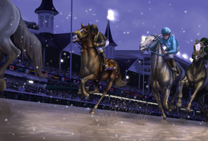 Not For Fame | Breeders Cup Classic by TheEndlessHourglass