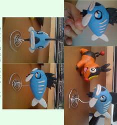 Plasticinemon: Sadfish by SovanJedi