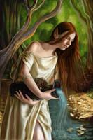 ELFINA by KreksofinArt