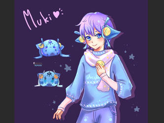 My OC : Muki_kun by AvesAoi