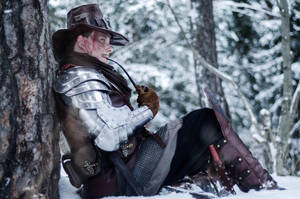 Witch hunter larp costume by Davio3d