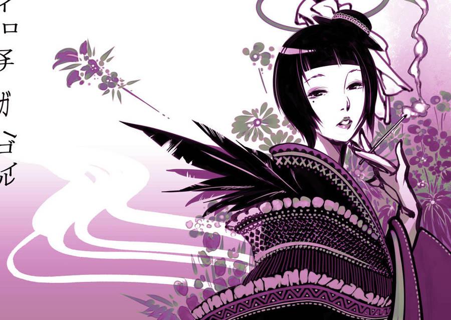 Iromachi - Geisha - Gargoyle by Styleos