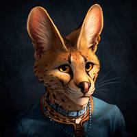 Serval Profile Pic 2018 by TitusWeiss