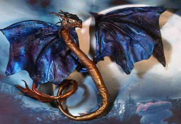 Steampunk cosmos Dragon by kessan