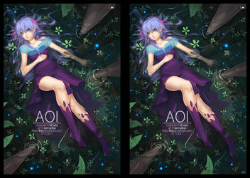 Stereoscopic: Cross Eye 'Aoi' by lires