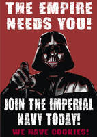 Vader Needs Cookies by sPexXy