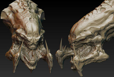 Hydralisk WIP update 002 by MKounelakis