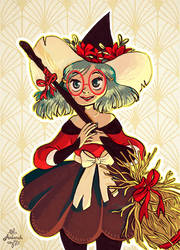 Witch de Noel by Aadorah