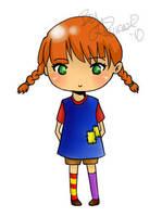 Pippi Longstocking by TamamaDesu