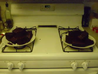 I MADE BROWNIES by batboy138