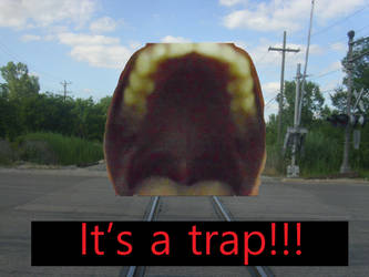 IT'S A TRAP!!! by batboy138